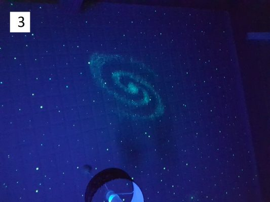 3. Spiralgalaxis